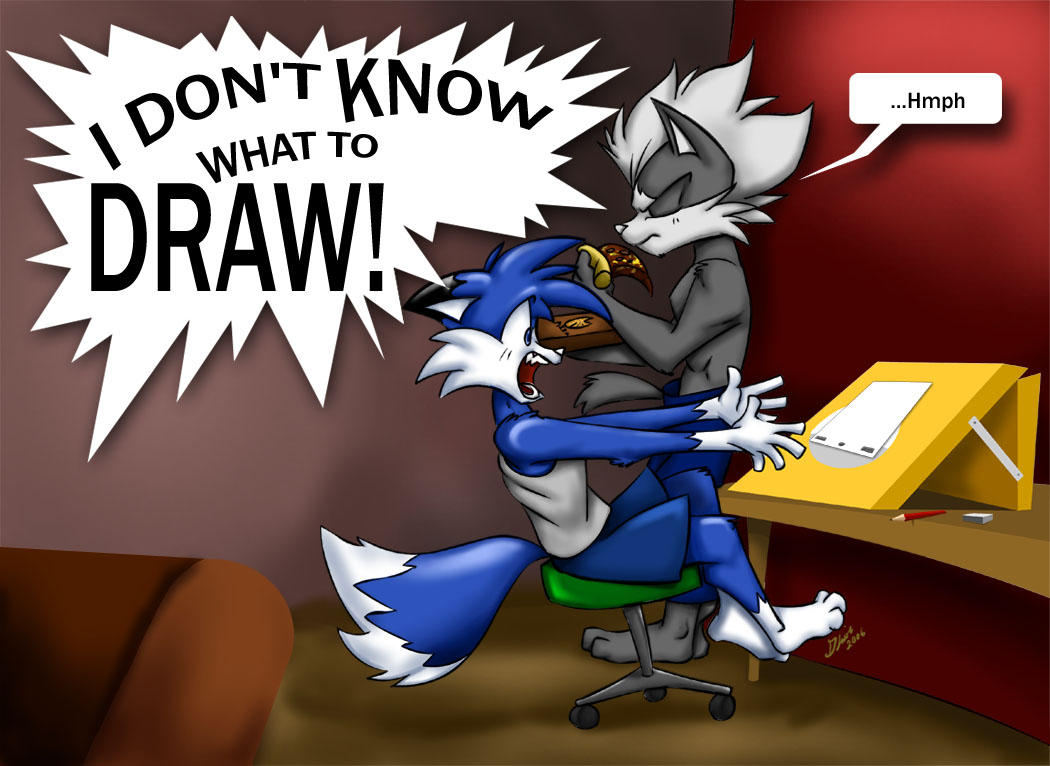What to Draw by SupaCrikeyDave