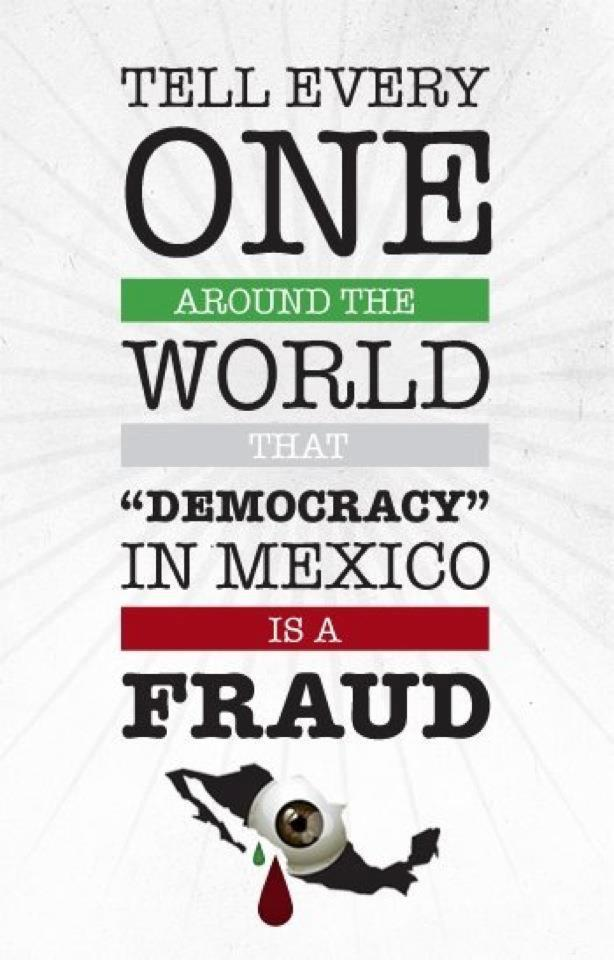 :Fraud Mexico 2012: by katomanX