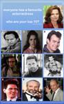 MY favorite Actors...