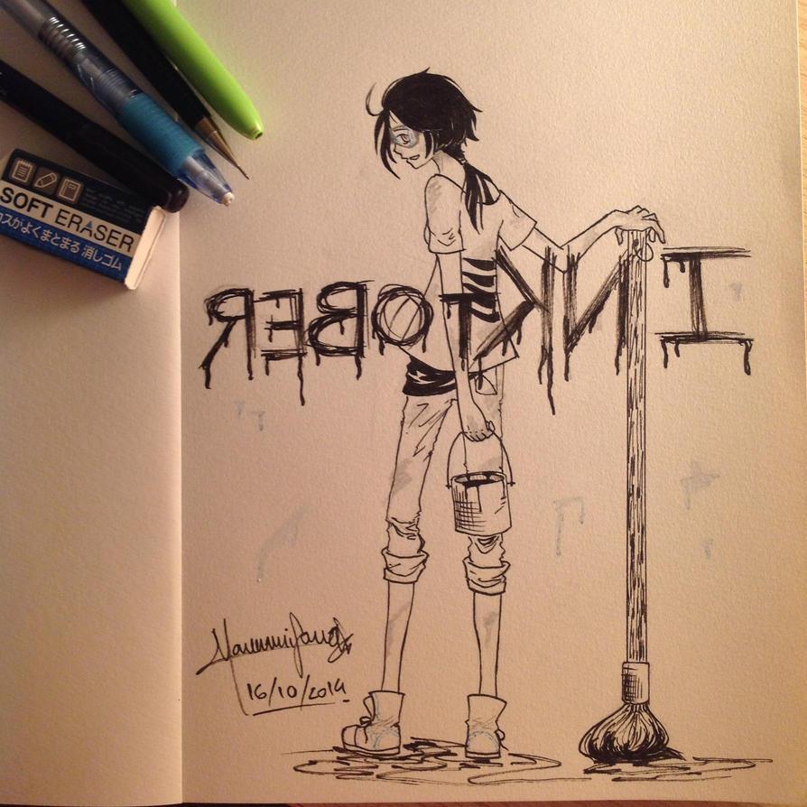 INKtober by Manami-chi