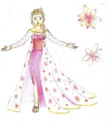 Tropical Queen Elsa