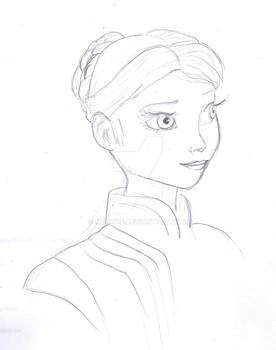 Teen Elsa Head