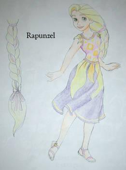 Rapunzel dress design