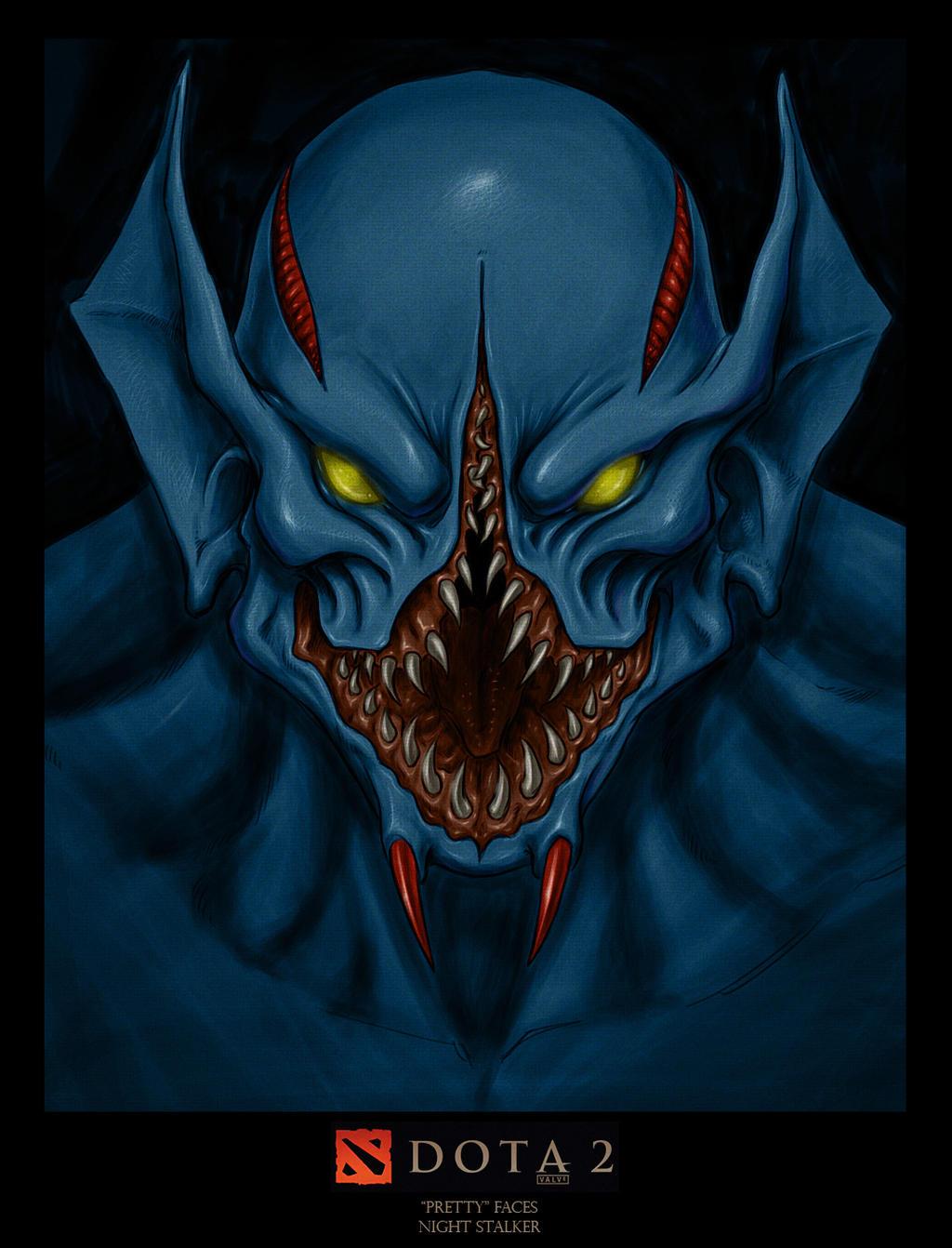 dota2 pretty faces nightstalker by hybridos on deviantart