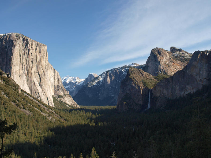 View from Tunnel View 2 by mattaphore