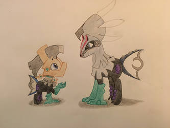 Null and Silvally by FaceTrip