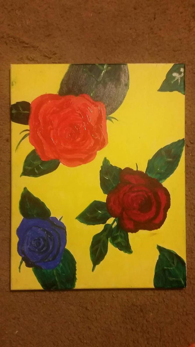 Rose Painting  by SugarBoop