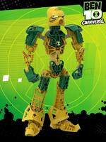 Ben 10 as a Bionicle