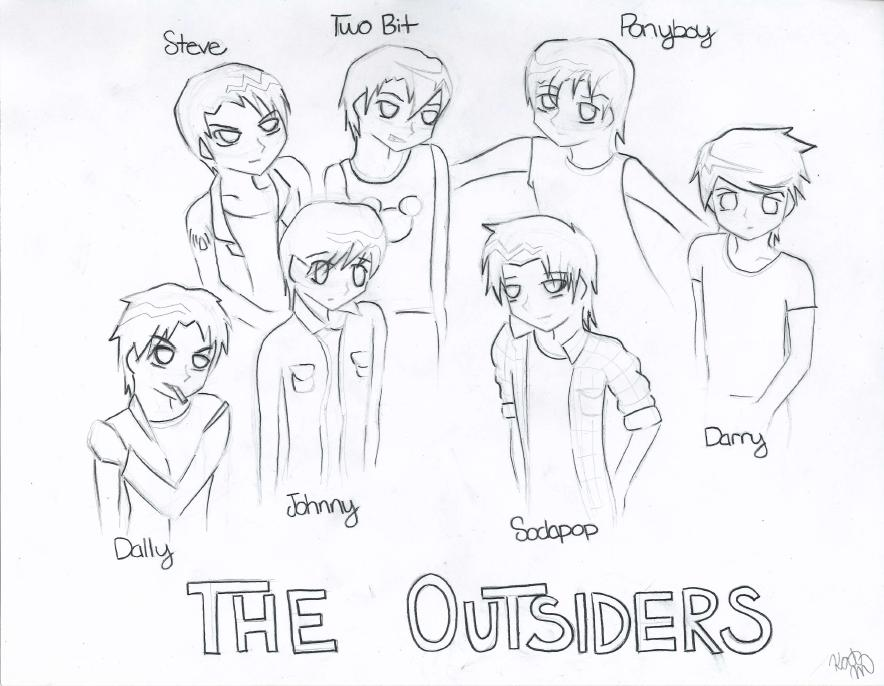 The Outsiders Drawings Bob