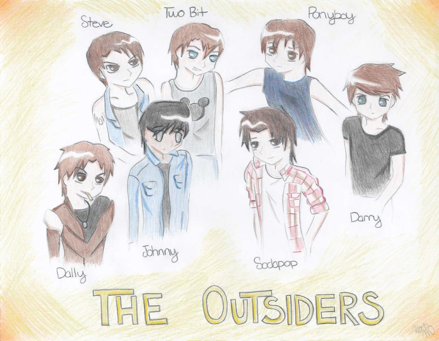 The Outsiders -color- by SasukeUchihable on DeviantArt