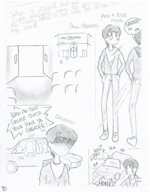 The Outsiders Movie Manga Pg. 1 by SasukeUchihable on ...