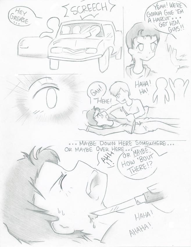 The Outsiders Movie Manga Pg. 2 by SasukeUchihable on ...