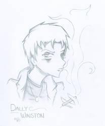 Dally Winston by SasukeUchihable