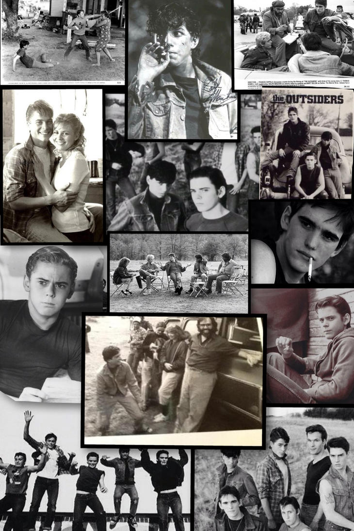 The Outsiders Collage by SasukeUchihable on DeviantArt