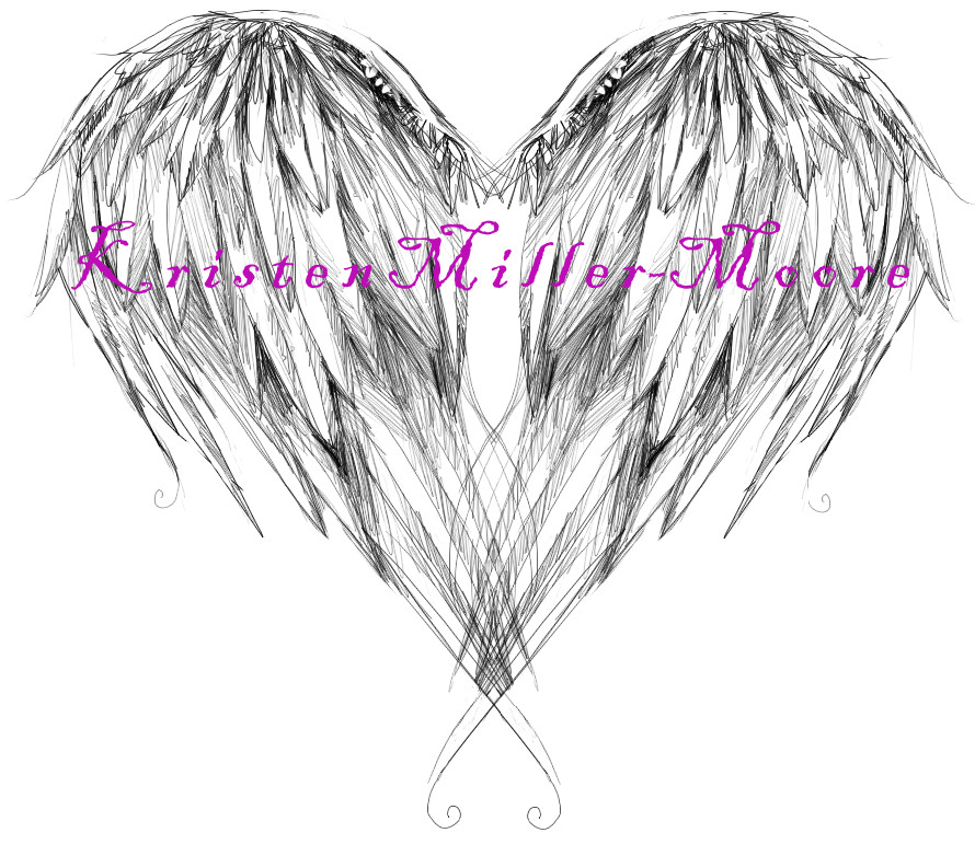 angel wing tattoo design by KristenMM