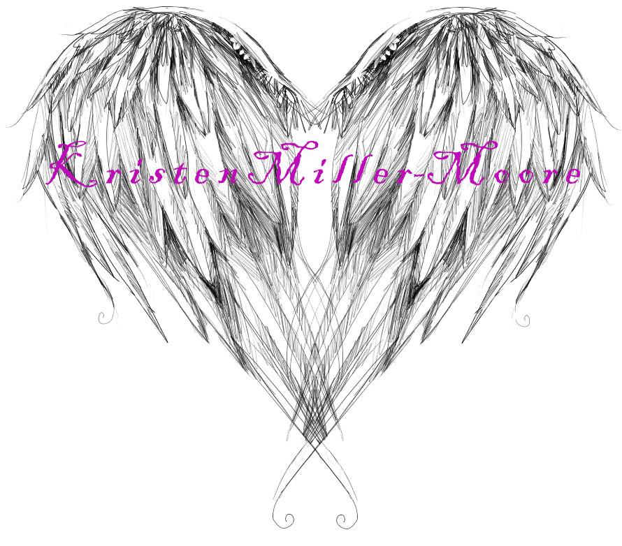 angel wing tattoo design