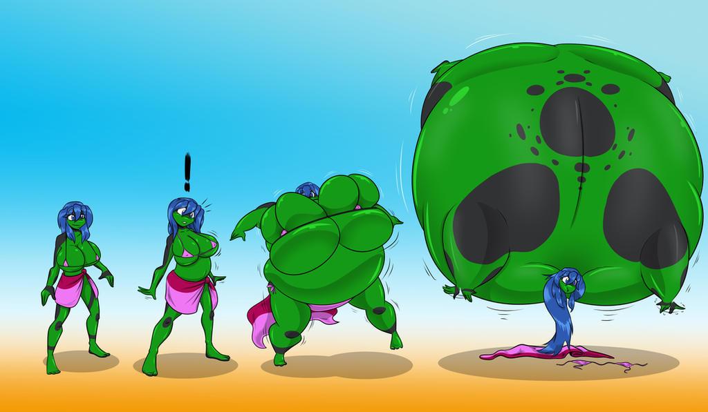 Acute Balloonitis! by Kreizen