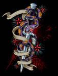Switchblade snake