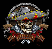 Mexican Skull by russellink