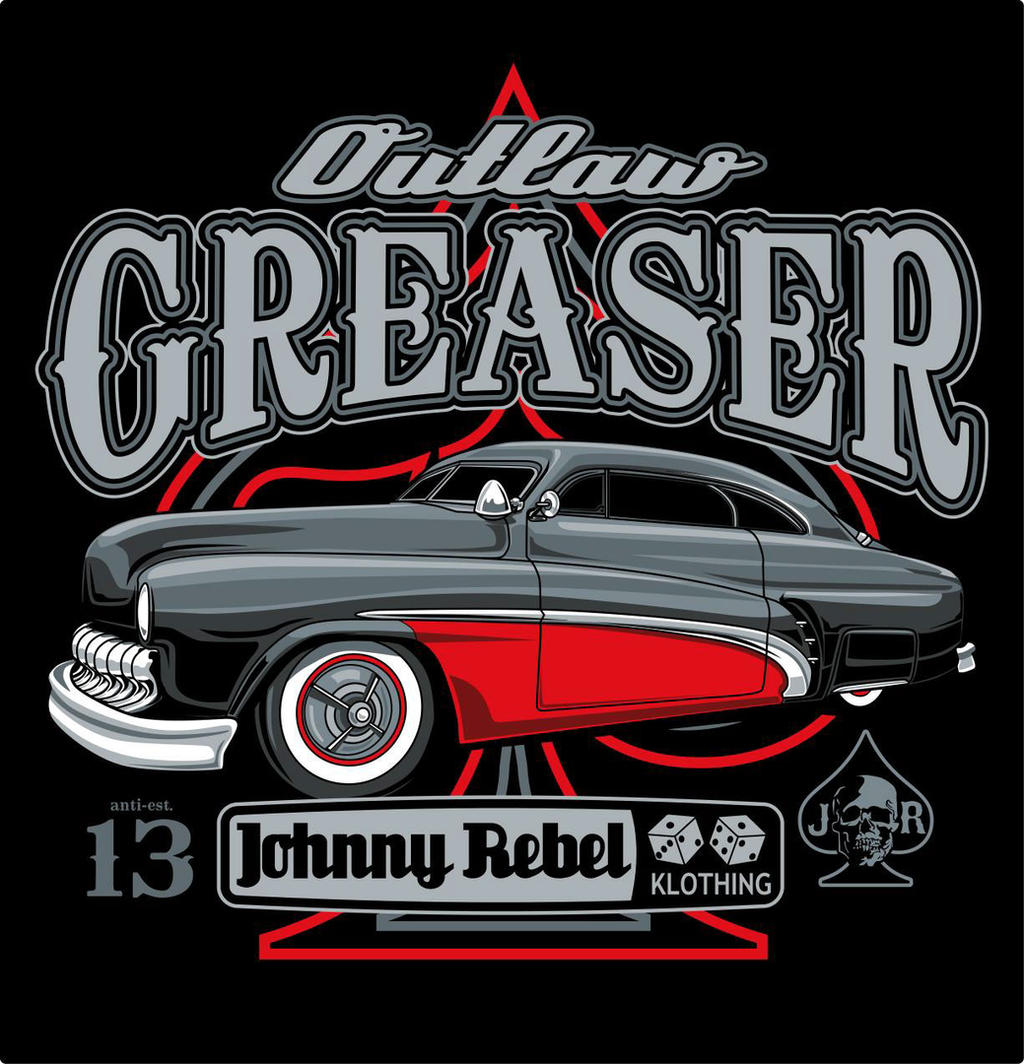 Rockabilly Wallpaper: Johnny Rebel T-Shirt Design Outlaw Greaser By Russellink