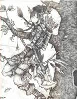 Tagge, Troll hunter by grahamku
