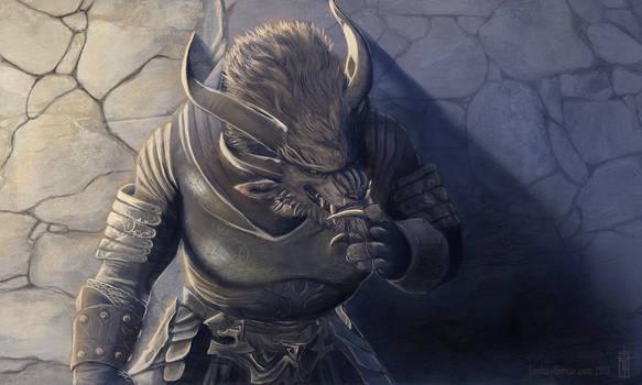 Kolvis Embermaw, Charr Guardian