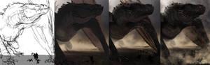 Progress Pictures - Balerion the Black Dread
