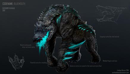 Kaiju Project: Bluemouth by LindseyBurcar