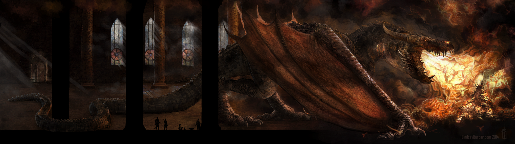 Forging the iron throne by lindseyburcar on deviantart for Iron throne painting