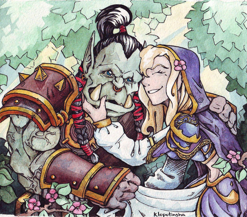 Jaina and thrall hentai naked pics