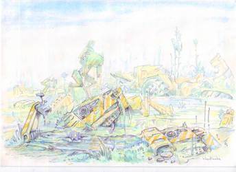 Swamp by KarinaKruglova