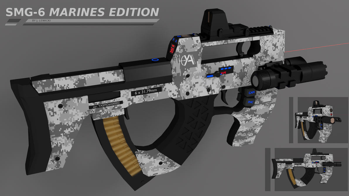 SMG-6 Marines Edition by Yachieku