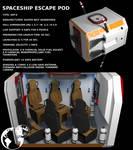 SPACE SHIP ESCAPE POD
