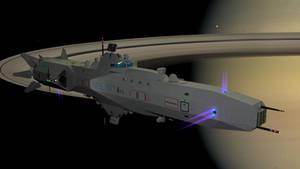 Harrison class corvette concept