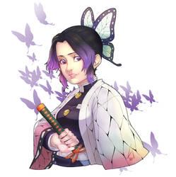 Kocho Shinobu Fan Art