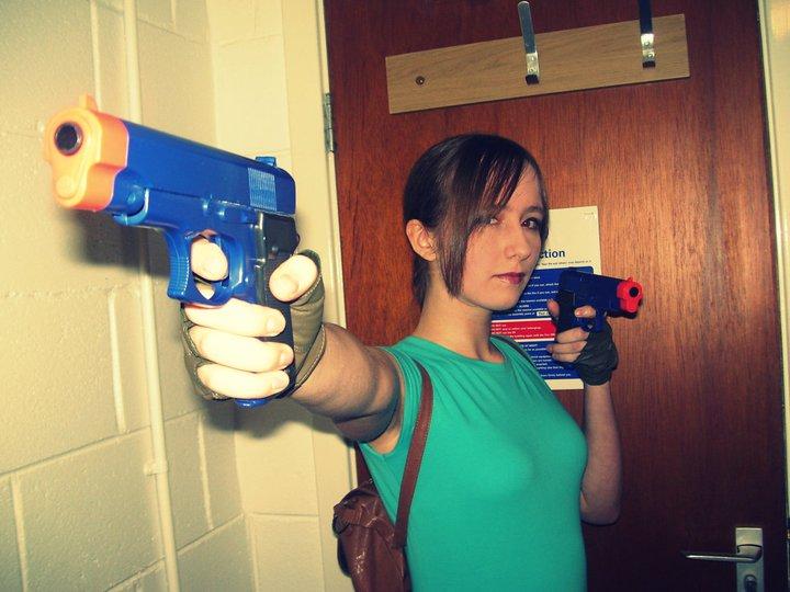 Lara Croft Cosplay 1 by TombRaiderKuchen