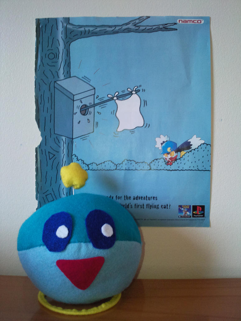 Huepow Plush Toy Klonoa by TombRaiderKuchen