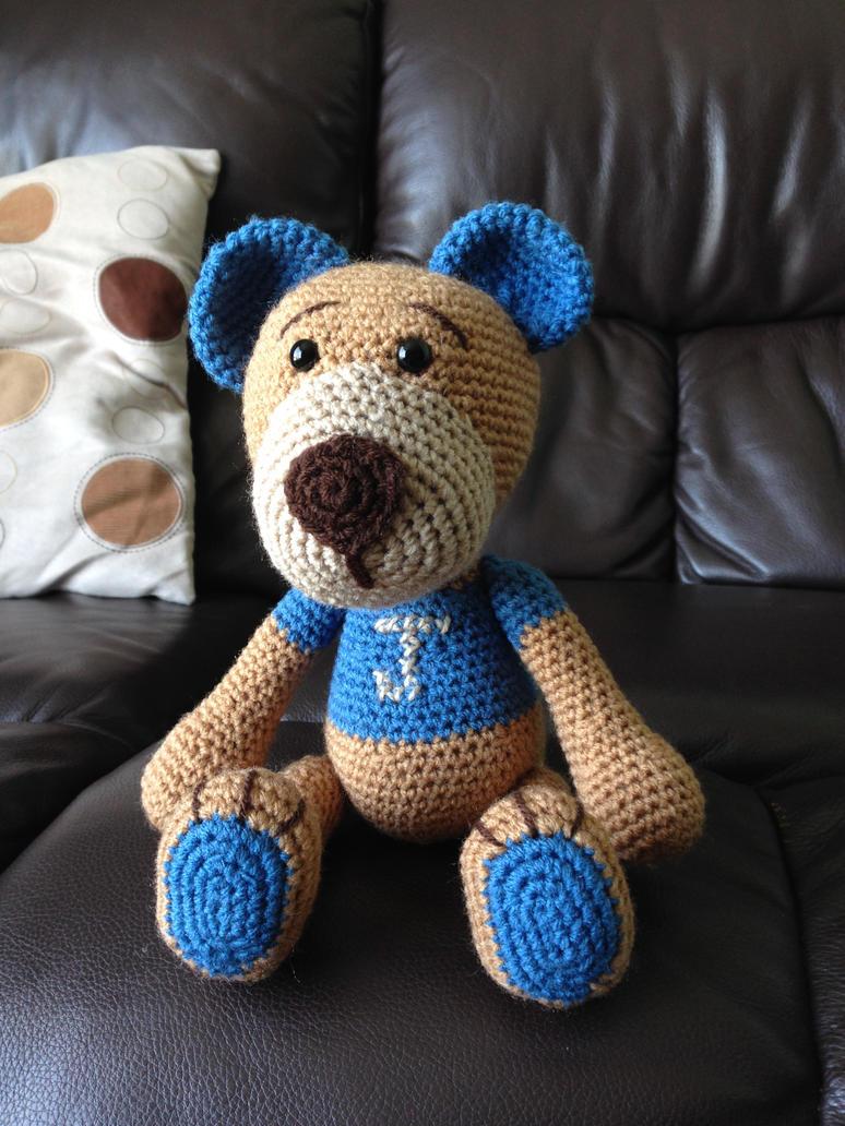Amigurumi Teddy Bear by TombRaiderKuchen