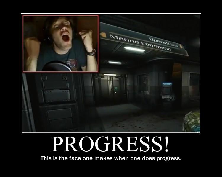 Pewdie's Progress Face by katsda52