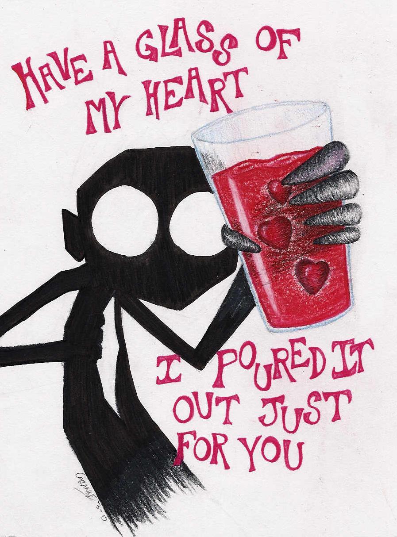 Glass of my Heart by PsychoactiveGiraffe