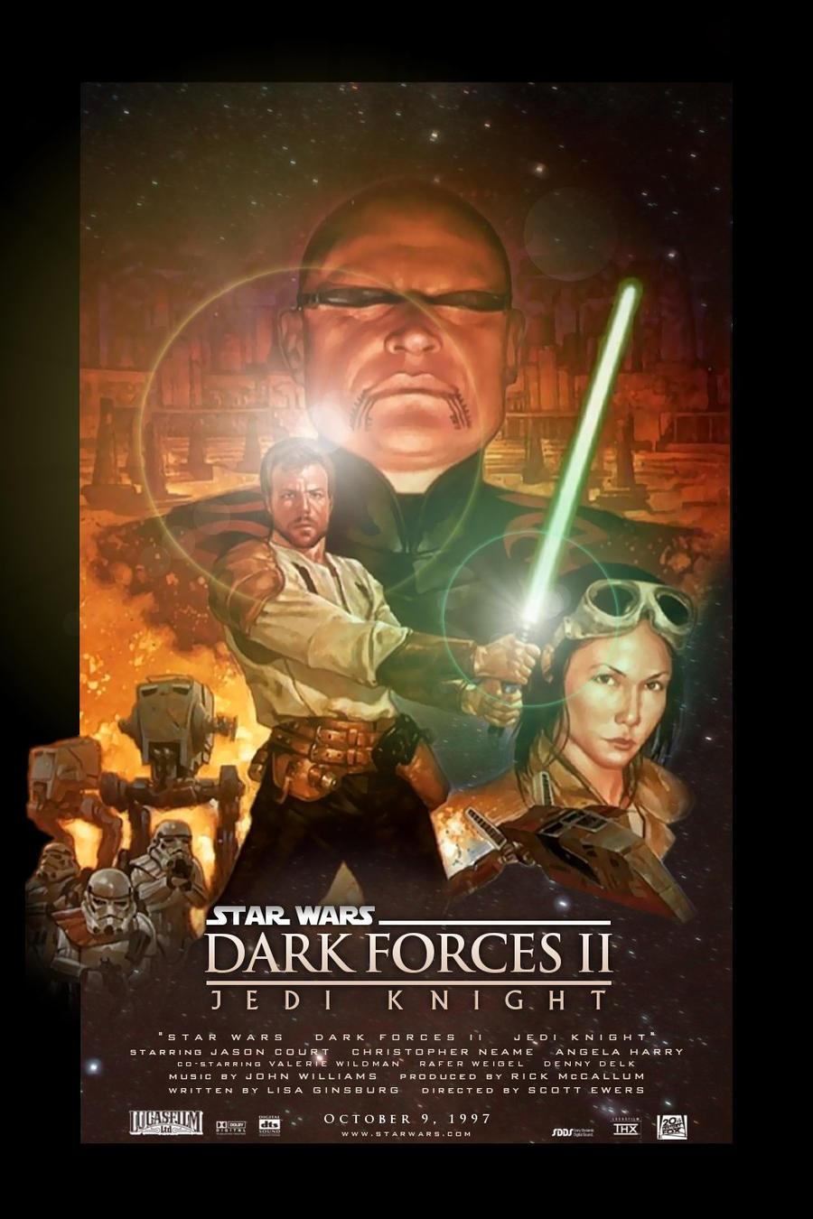 Star Wars: Dark Forces II: Jedi Knight by Elmic-Toboo