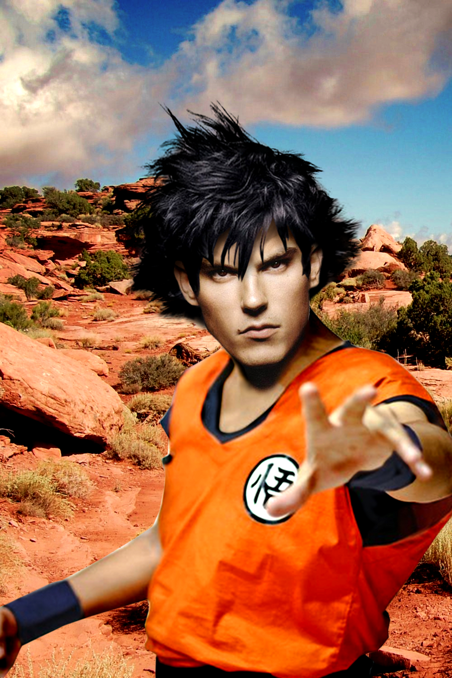 Sean Faris is Goku! by Elmic-Toboo on DeviantArt