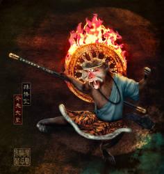 Monkey King by Elmic-Toboo