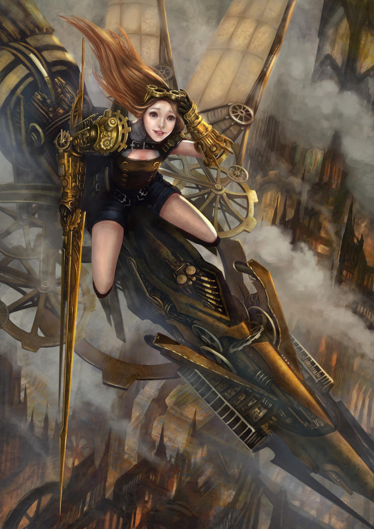 Steampunk warrior by shirohtakashiya on DeviantArt