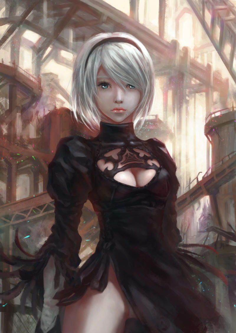 Premise Indicator Words: 2B Nier Automata By Shirohtakashiya On DeviantArt