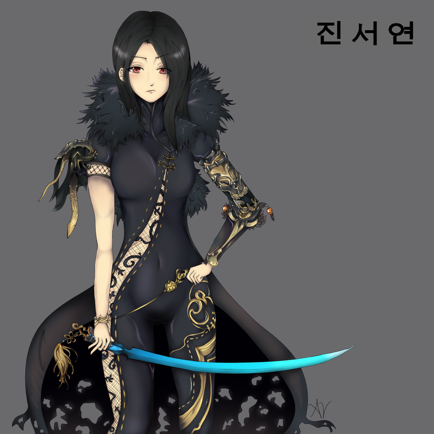 Blade and Soul: Jin Seo Yeon by elessaria