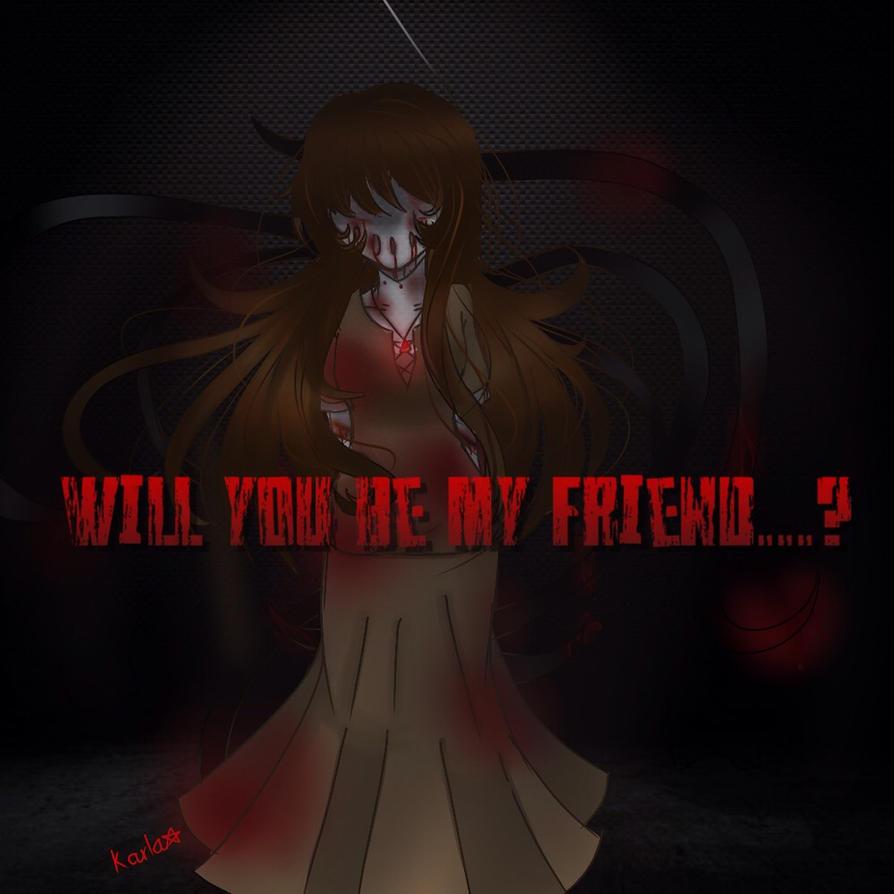ART TRADE : Will you be my friend...? by LamKarla
