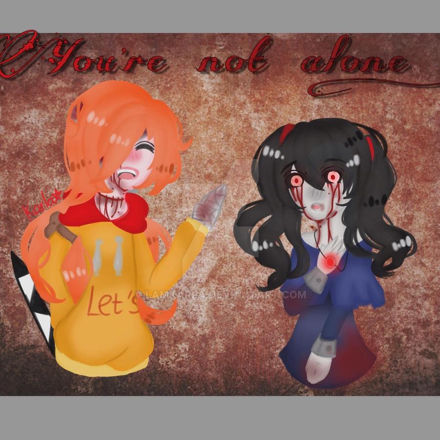 Kasai and Sasha by LamKarla