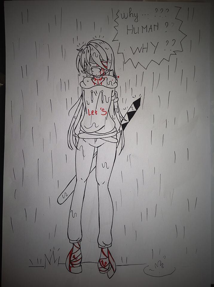 Kasai hates human ... by LamKarla