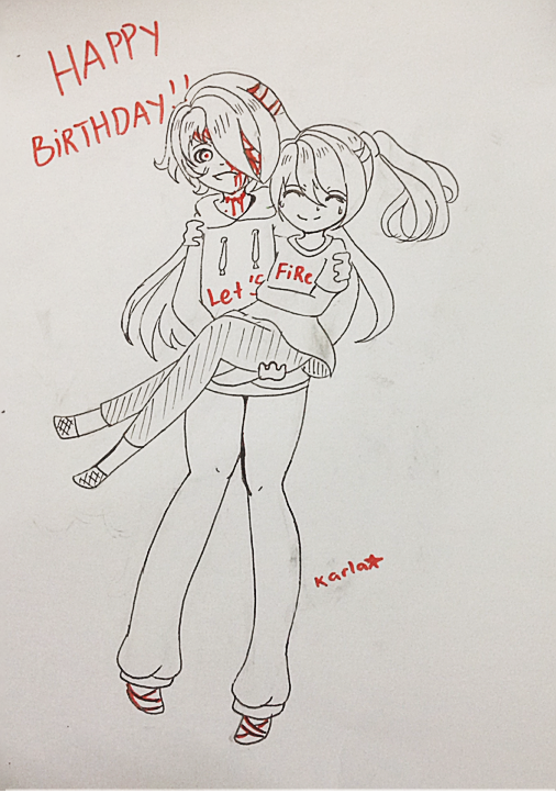 Happy birthday !! by LamKarla